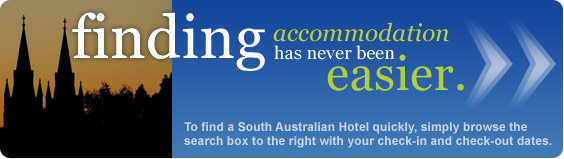finding South Australian accommodation has never been easier
