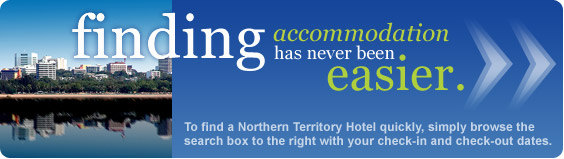 finding Northern Territory accommodation has never been easier