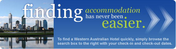 finding Western Australian accommodation has never been easier