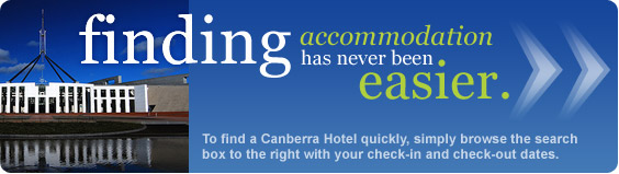 finding Canberra accommodation has never been easier