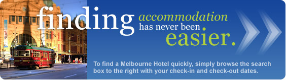 finding Melbourne accommodation has never been easier