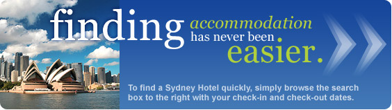 finding Sydney accommodation has never been easier
